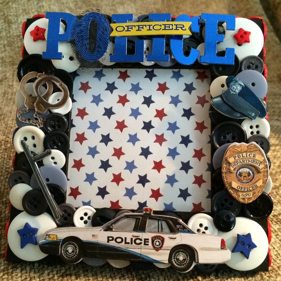 Police Themed Picture Frames | Framess.co
