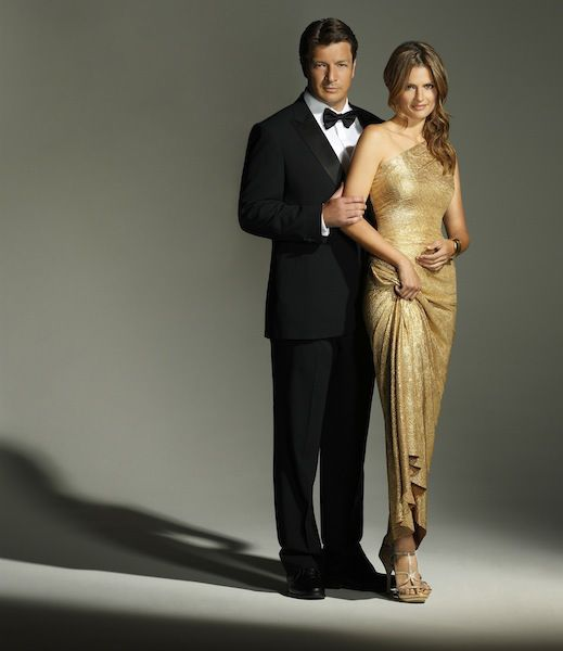 Nathan Fillion and Stana Katic - Castle Season 6