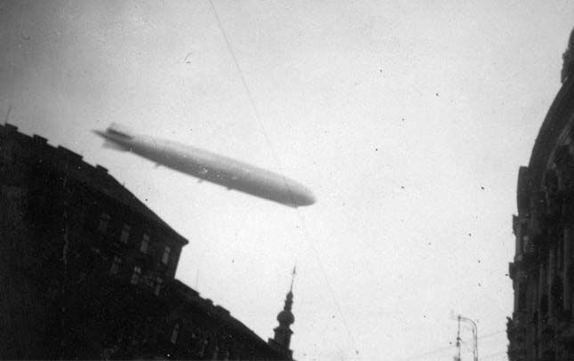 1931. Zeppelin Budapest felett