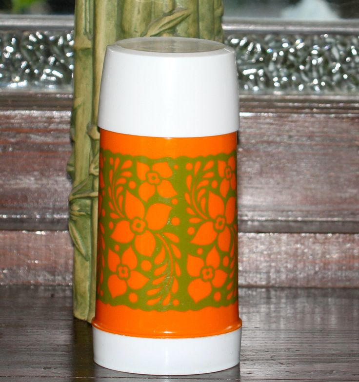 1970'S ALADDIN Thermos by VintageCollateral on Etsy