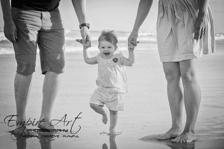 Sunshine coast family photographers. Learning to walk photo ideas.
