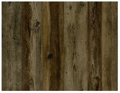 wallpaper vertical weathered wood plank siding taupe brown