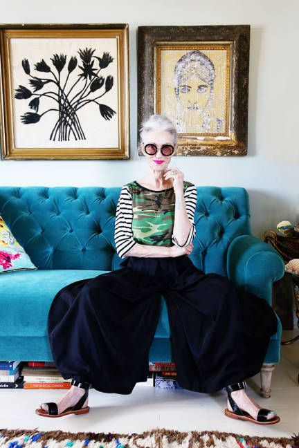 Bold goes with bolder in Linda Rodin's NYC home
