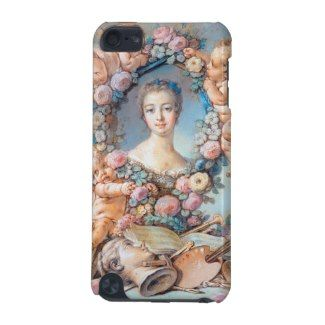 Madame de Pompadour François Boucher rococo lady iPod Touch (5th Generation) Cover #madame #pompadour #pastel #portrait #boucher #Paris #France #classic #art #custom #gift #lady #woman #girl
