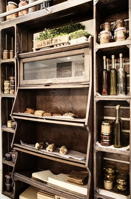 Crate-like display at Dear Me by Moorgas and Sons