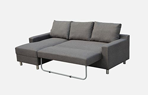 New Spec Turnin Fabric Sectional Sofabed With Left Facing