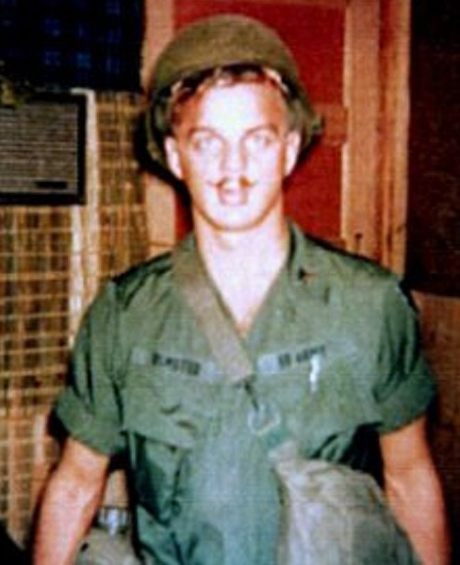 Vietnam War Medical KIA - 1st Lt. Jerome Edwin Olmsted (April 15, 1943 - November 30, 1967) an Army nurse anesthetist stationed at the 67th Evacuation Hospital, in Qui Nhon, had been sent to a hospital in Pleiku to help out during a push. With him when the plane crashed on the return trip to Qui Nhon were three other nurses, Eleanor Grace Alexander, Kenneth Ragan Shoemaker, Jr., and Hedwig Diane Orlowski. He was 24.