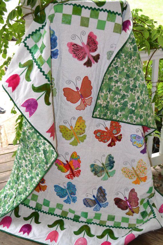 Jean Truelove applique quilt