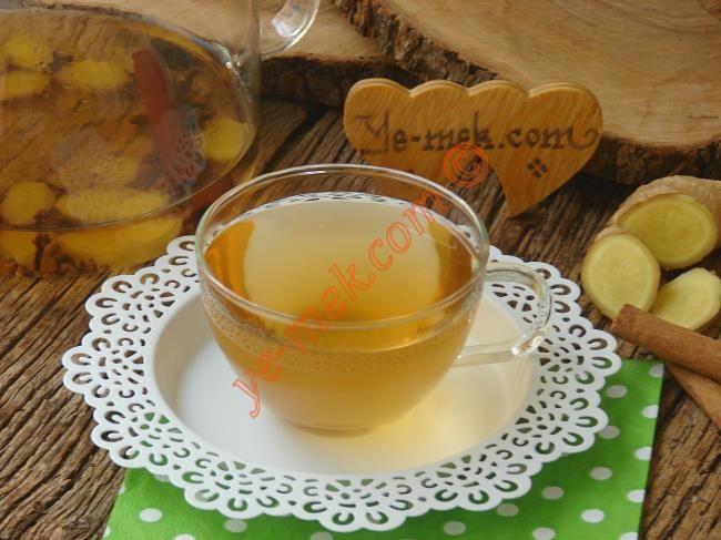 Hızlı Kilo Verdiren Tarçınlı Zencefilli Karanfil Çayı Resmi