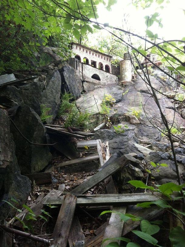 Abandoned biblical theme park ruins Holy Land USA