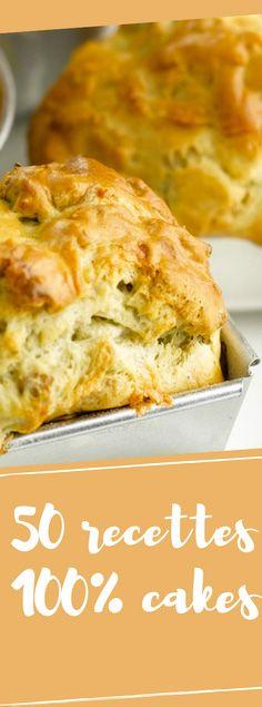 Découvrez nos 50 recettes de cakes simples et gourmands