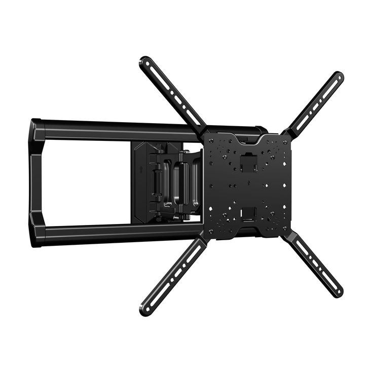 """Sanus Full-Motion TV Wall Mount for 37"""" to 80"""" TVs Extends 18"""" & Fits Studs Up to 24"""" - Bracket fits most LED, LCD, OLED, and Plasma Flat Screen TVs w/ VESA Patterns up to 600 x 400 - OLF18-B1"""