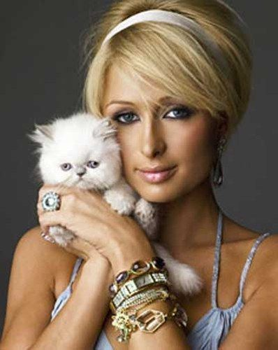 Paris Hilton - For an empire. For being a nobody that everybody knows.
