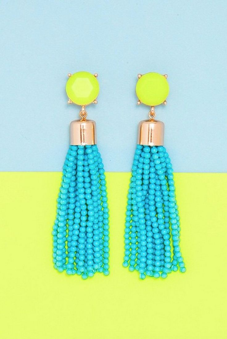 These Acid Tassel Drops are best-sellers for a reason! #jewelry #earrings