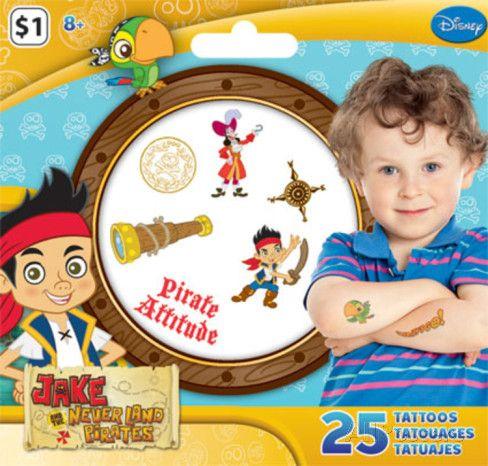 Jake and the Neverland Pirates Tattoos