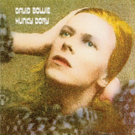 Artist: David Bowie | Album: Hunky Dory | Year: 1971 | Art Direction: Terry Pastor & George Underwood