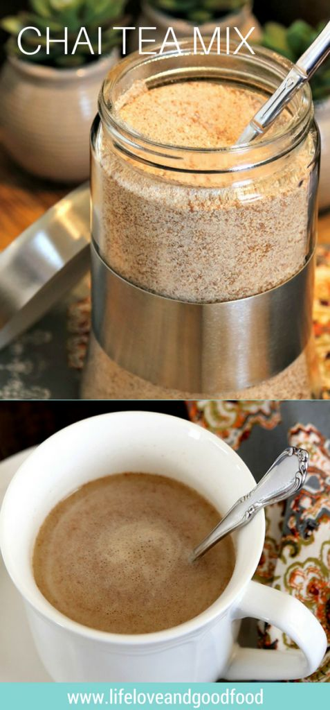 Instant Chai Tea Mix | Life, Love, and Good Food #recipe #gift