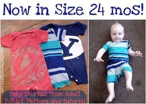 Feather's Flights: A Sewing Blog: Size 24 mos T-shirt Shortall Pattern