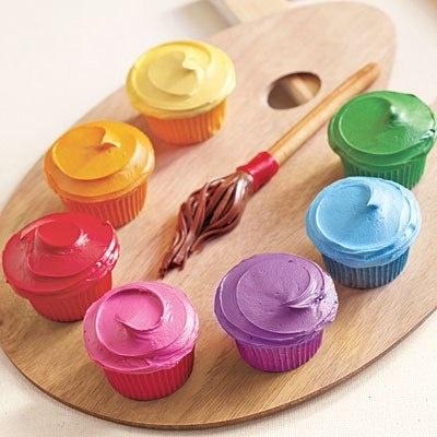 Art Party Cupcake Palette