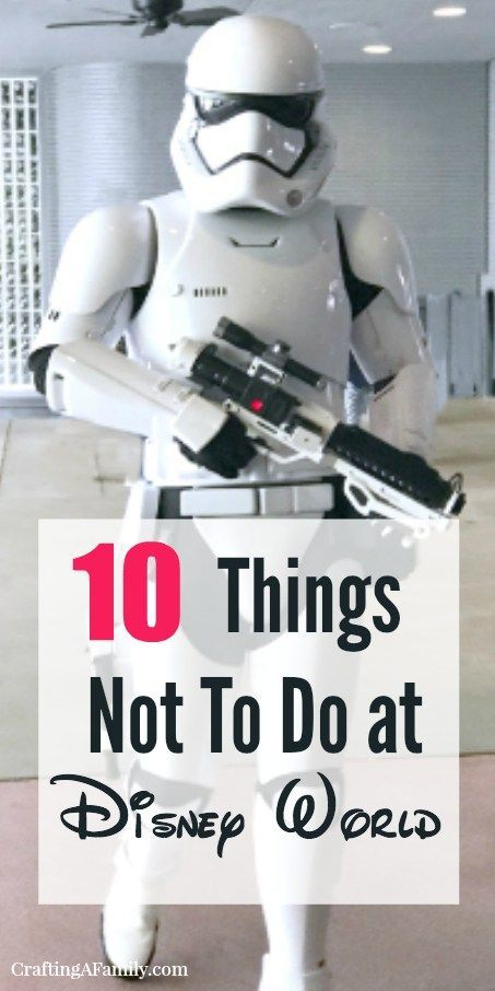 10 things to not do on your next Disney vacation. You need to know these tips to make your vacation at Disney run smoothly and have fun. Don't be caught making these mistakes. 40 years of visiting Disney. Learn about Fast Pass+, security and what to not start a day in the parks without. #disneyvacation #disneytips #disneyhacks, #fastpass #WDW #disneybound #vacationtips #waltdisneyworld #disneyplanning #vacationtips #traveltips #familytravel #craftingafamily
