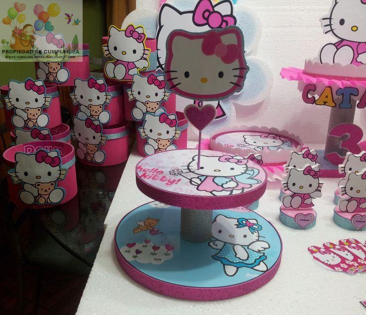 41 best images about hello kitty party ideas on pinterest - Decoracion hello kitty ...