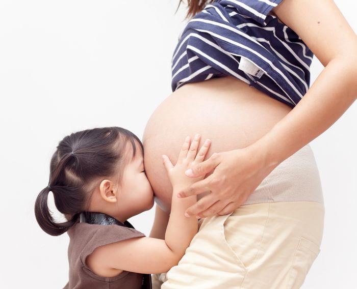 Sibling jealousy | Pregnancy Bump & Baby