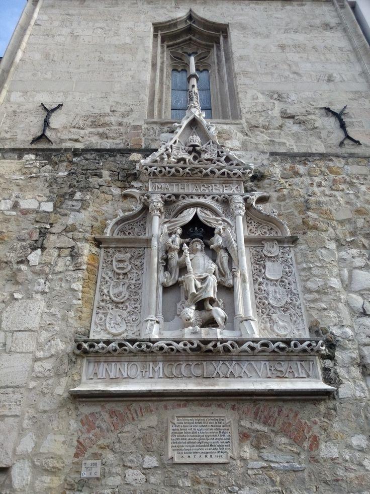 King Matthias memorial place.