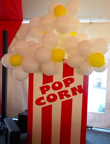 Pop corn theme Carnival Event Decorations Event Planning Charlotte NC