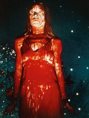Carrie White - Carrie. I miss horror movies without all the effects and just straight creepy and scary.: