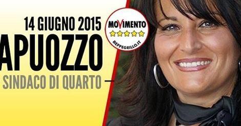 QUARTO Il Movimento Cinque Stelle inizia a farsi spazio: Rosa Capuozzo, di professione avvocato, sposata e con due figli, è stata eletta