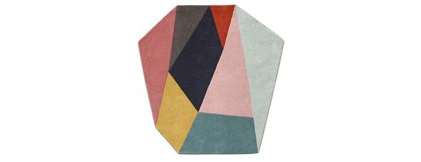 Asuka rug. As shown, multicoloured, 100% wool. W150xL150cm. [Asuka]  Article no.: 106071007640  $839  BoConcept