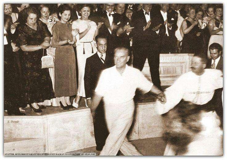Eylül 1936 Balkan Festivali, Beylerbeyi Sarayı