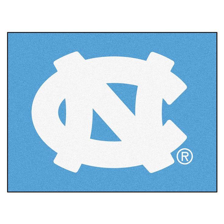 "Unc - Chapel Hill Ncaa ""all-star"" Floor Mat (34""x45"") Nc Logo"
