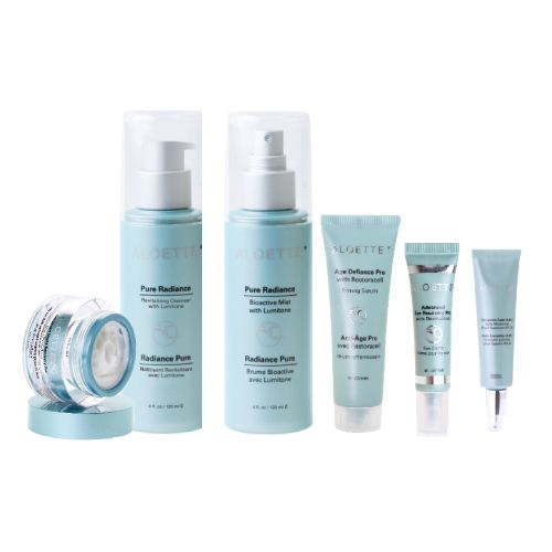 This is the Platinum Value Package of Aloette: Perfect for Ladies over the age of 35 and containing all of the cutting edge technology for anti-aging results.  You can contact me for this product anytime.