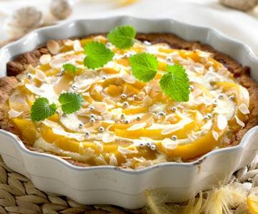 Mango-Valkosuklaa Piirakka