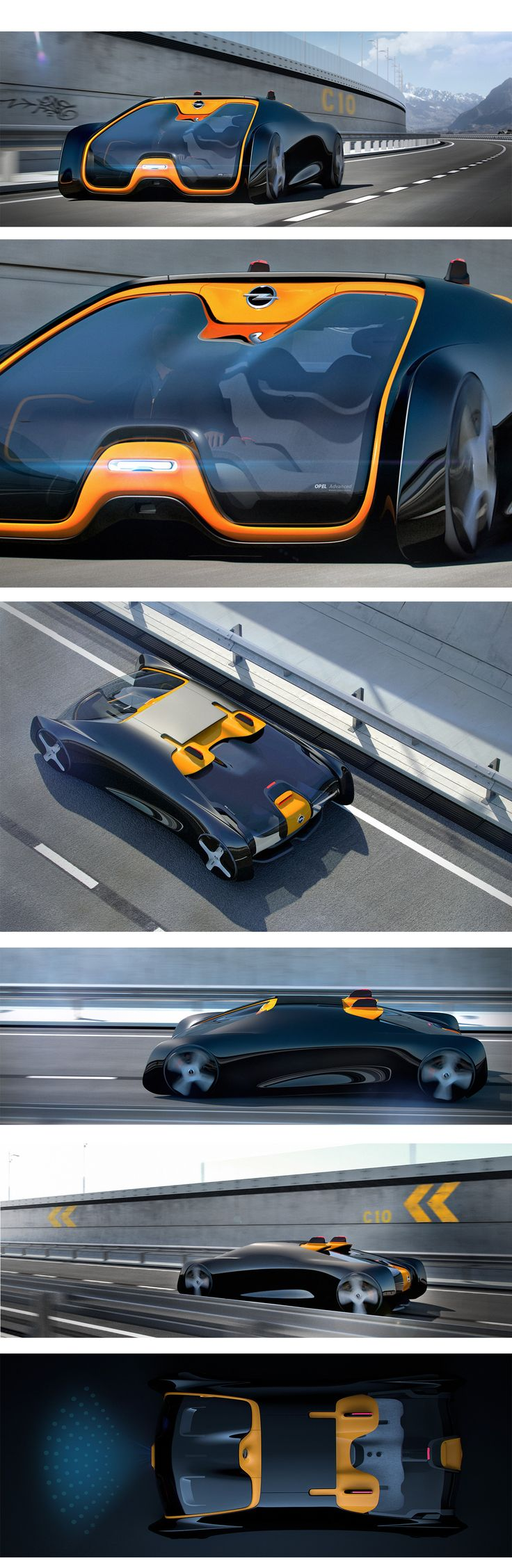 First semester project for Pforzheim University sponsored by Opel.Opel H is a…