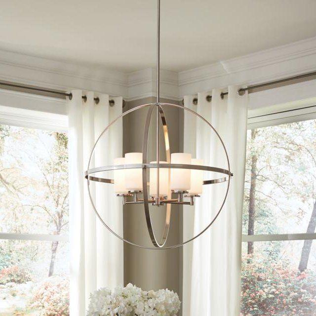 Morningside Drive 5-Light Globe Pendant