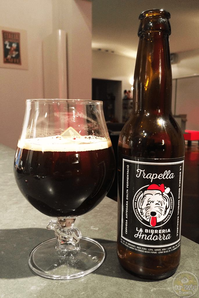 04-Dec-2015: Trapella Especial de Nadal by La Birreria Andorra. Wow, surprised at the amount of flavor in this one! Lots of dark coffee and cocoa bitterness. Good body. Just a bit lacking in aroma. #ottbeerdiary #ottadvent15