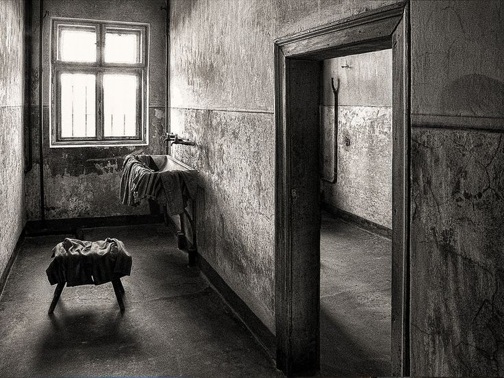 Block 11 - a washroom where women had to undress before they were executed outsite on the yard.