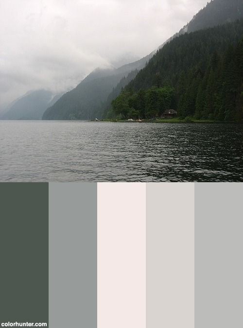 Pacific Northwest Color Scheme