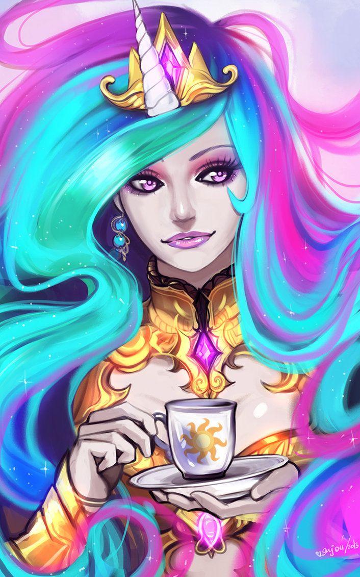 Princess celestia by enijoi on deviantart mlp fim pinterest other halloween costumes and - Princesse poney ...