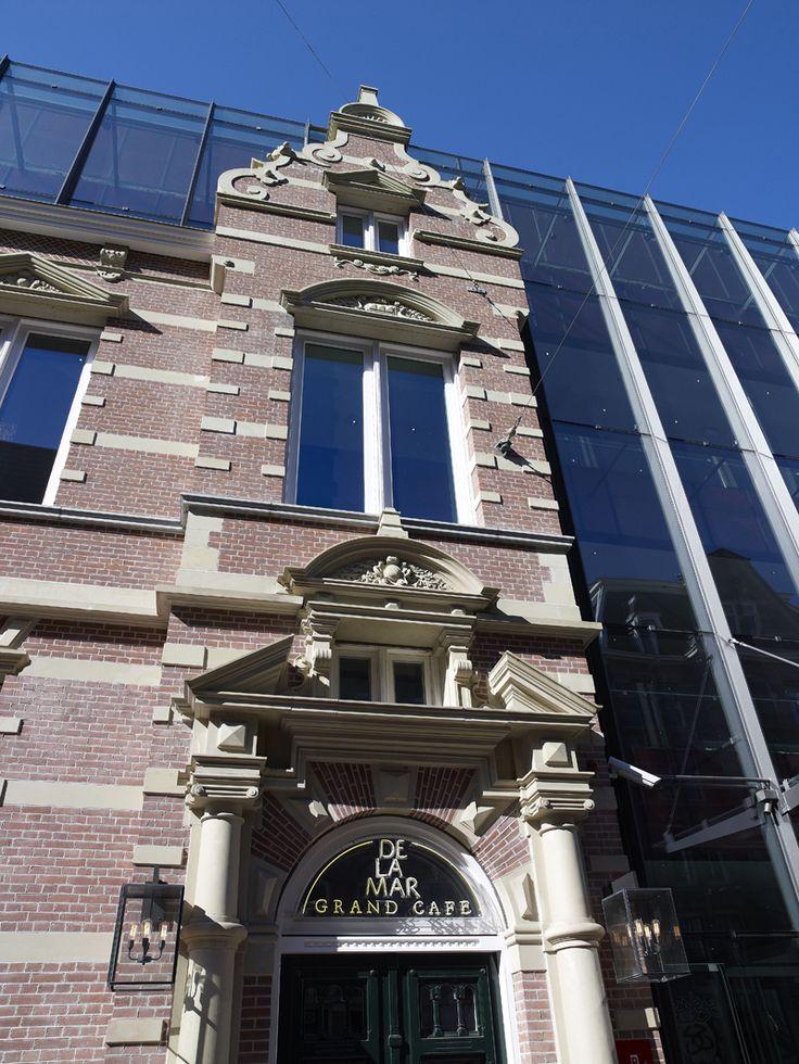 Mix van Rood en Gevelgrauw, Renova VB Bemmel, DeLaMar theater, Amsterdam