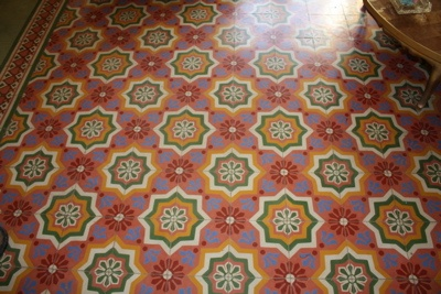 Pasta Tile Floor Merida Yucatan The Great Escape