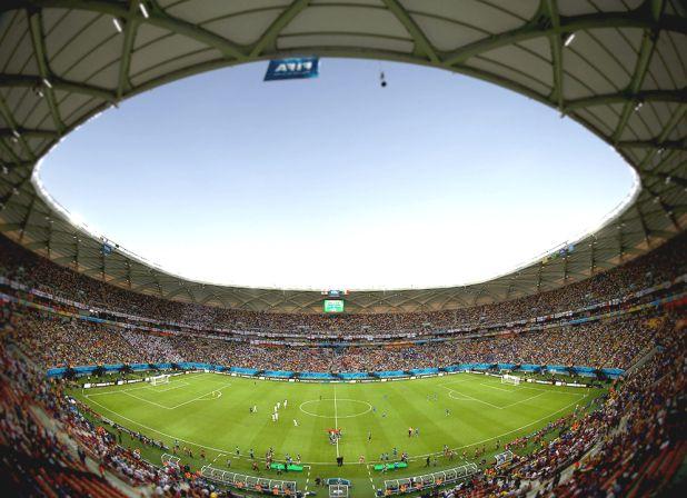 #Soccer stadium in #Rio #2016