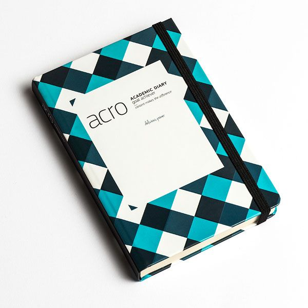 Acro - specialized planner by Croatian designer Eli Novaković. Academic diary that does not start from January 1st. Start it from whichever date you want.