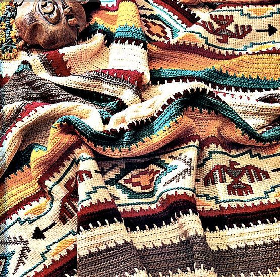 Three (3) beautiful Indian crochet blanket patterns with earthy and geometric patterns and the third features an Indian Chief as its focal-point. Delightfully rustic and southwestern native American afghan pattern. This special saves you $1.50! Sweet.  Approx: - 50 x 64 inches before fringe - picture 2 - 51 x 72 inches (without fringe) - picture 3 - 50 x 70 inches - picture 4  Instant download in one easy-to-read PDF. Three total PDFs, one for each.  Questions? Just ask