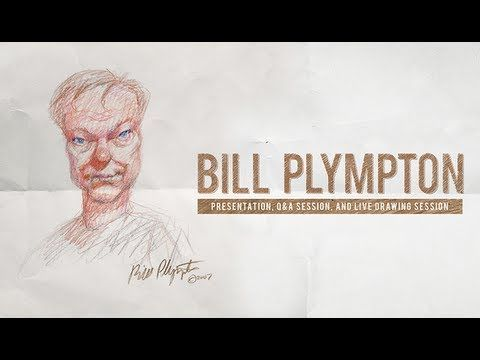 Bill Plympton Illustrates The Story of His Animation Career while visiting Full Sail.