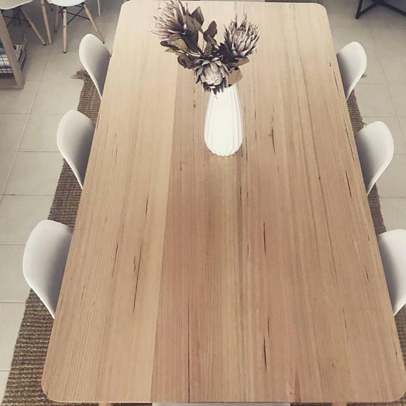 Ft21 Tasmanian Oak 8 Seater Dining Table Timber Dining Table 8