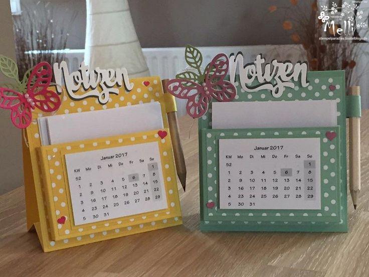 Handmade Calendar Tutorial : Best calendars post it note holders images on