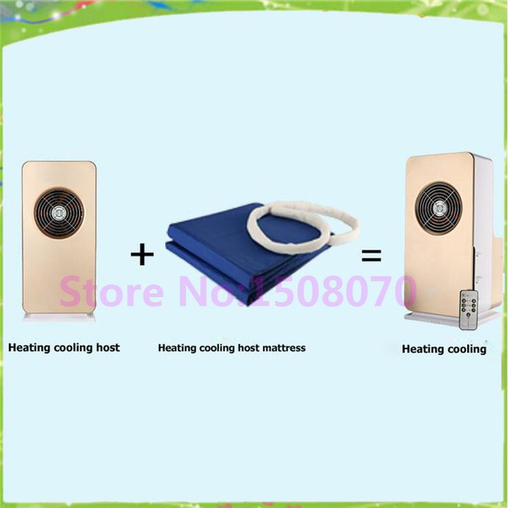 Factory price double size commercial home use air conditioner cooling heating mattress pad for small business